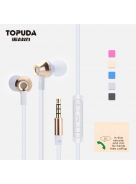 Wired in-ear earphone with super